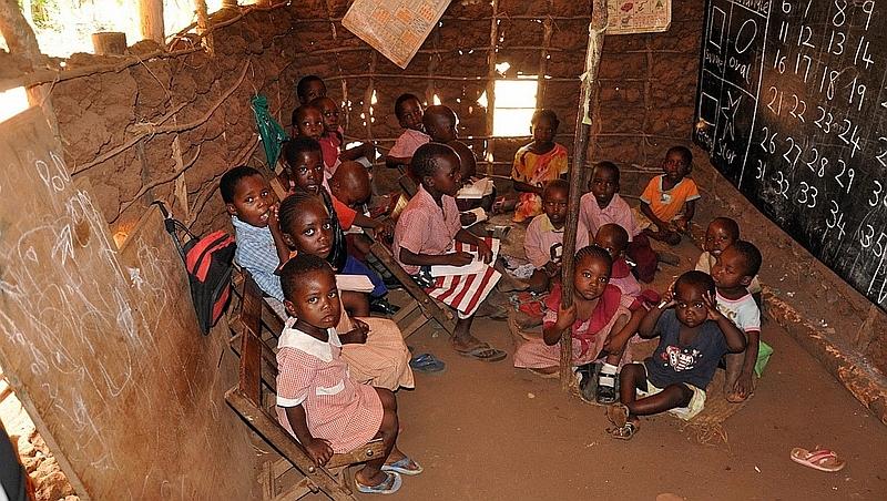 Dentro una scuola di Malindi