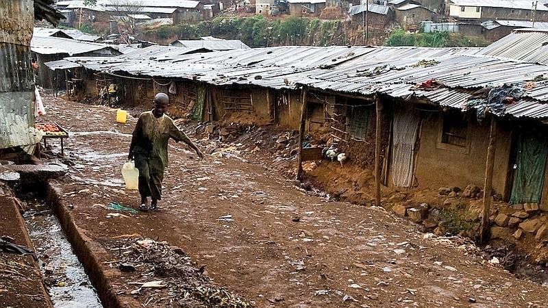 Kibera, slum di Nairobi
