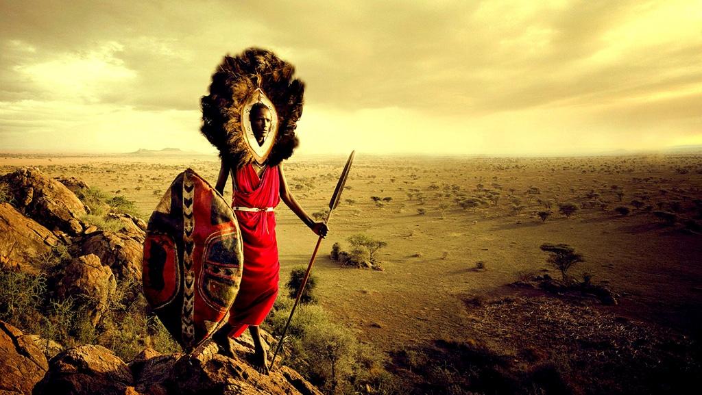 Guerriero Masai - Kenya