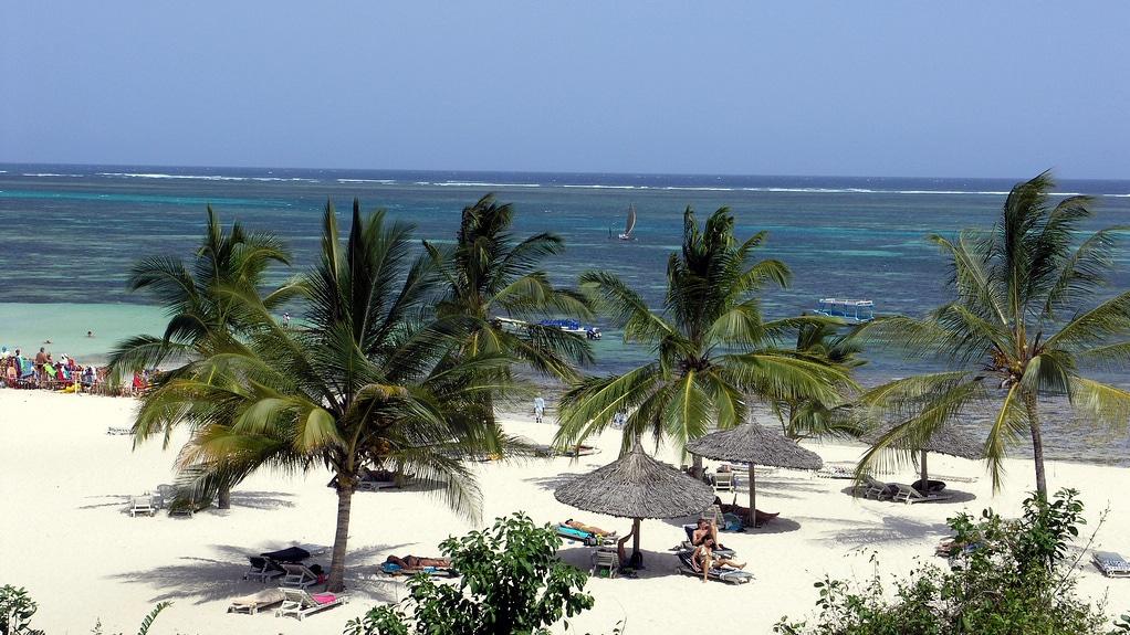 Shanzu beach - Kenya
