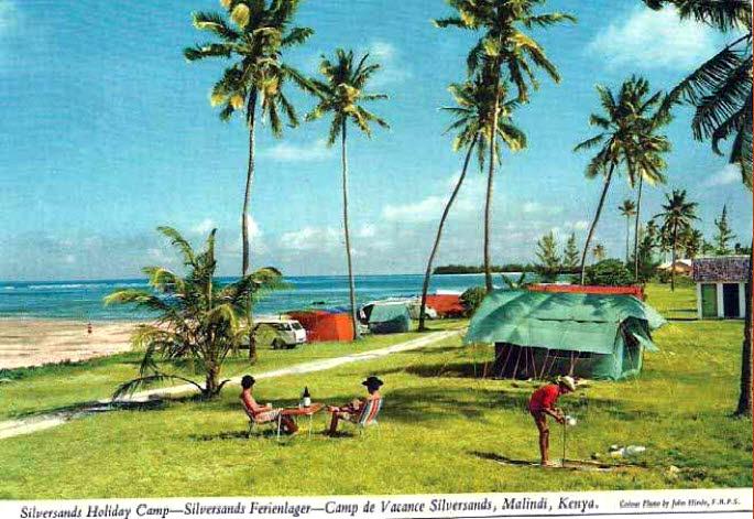 Silversand Holiday Camp - Malindi (vintage photo)