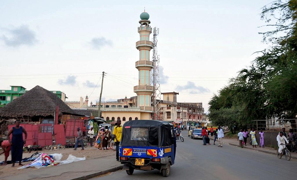 At the center of Malindi