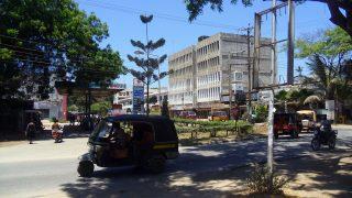 Uno scorcio del centro di Malindi-Kenya