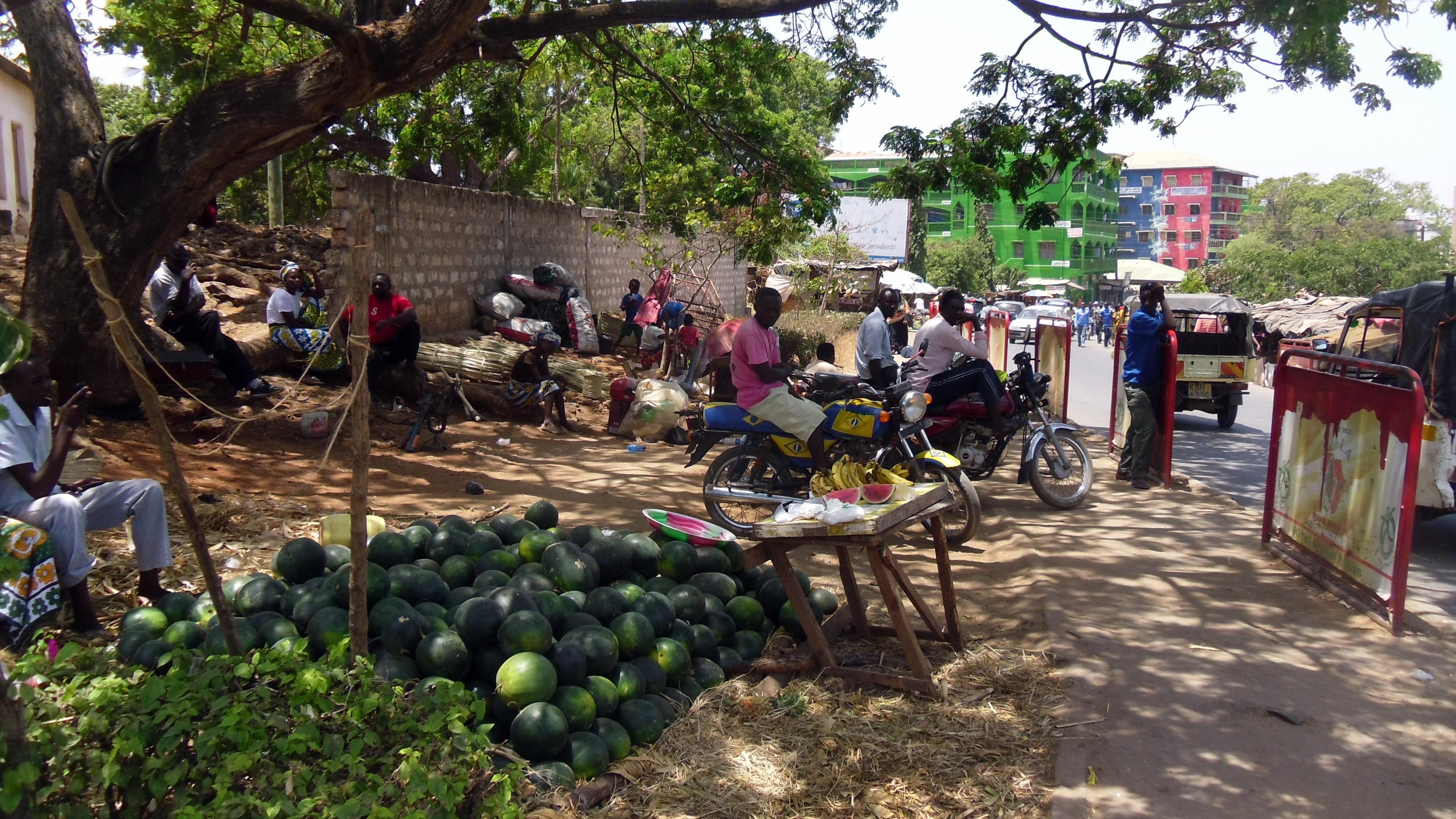 Malindi Kenya Vecchio mercato