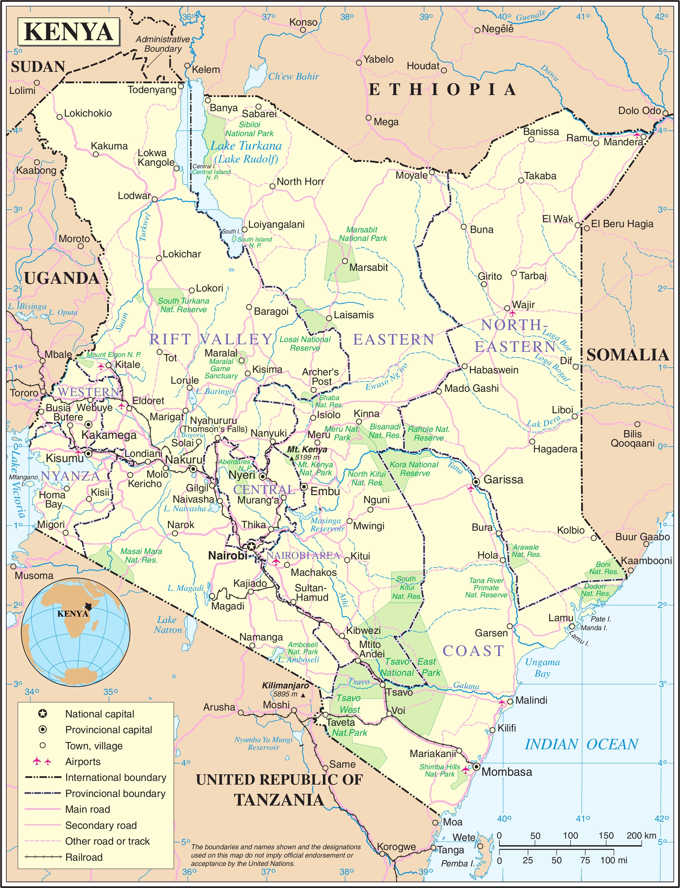 Malindi Cartina Geografica.Storia Del Kenya