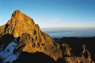 Monte Kenya-Vetta del vulcano Kirinyaga