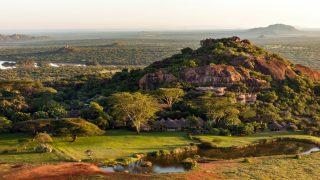 Panoramica Laikipia Plateau-Kenya Safari