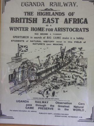 Uganda Railway-Volantino di propaganda