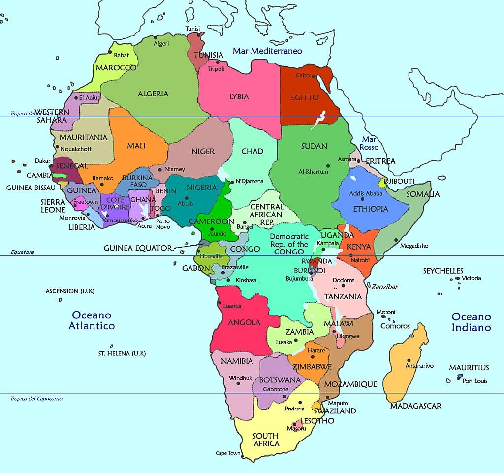 vawn e lAfrica ancora risalente