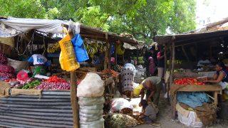 Uno scorcio del vecchio mercato di Malindi