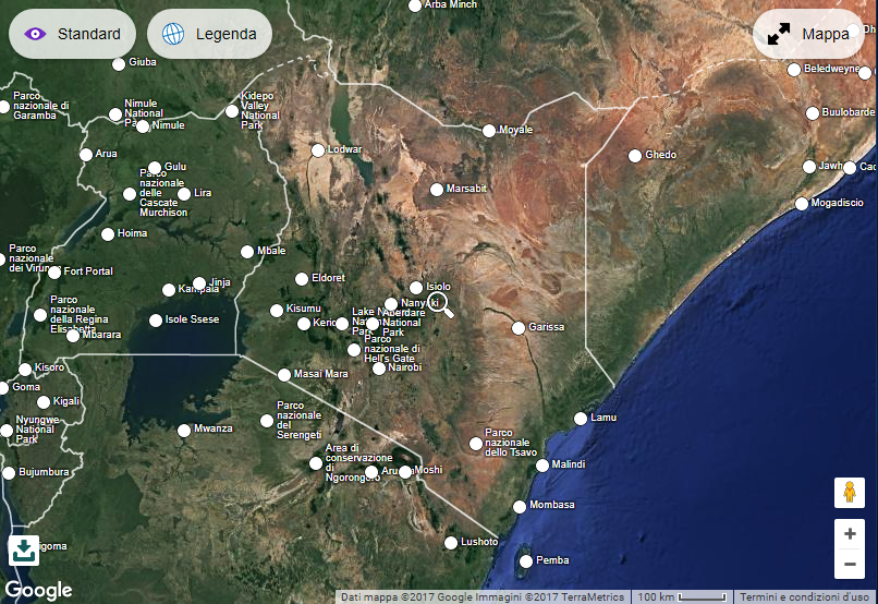 Malindi Cartina Geografica.Storia Di Watamu