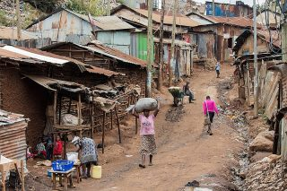 Povertà in Kenya